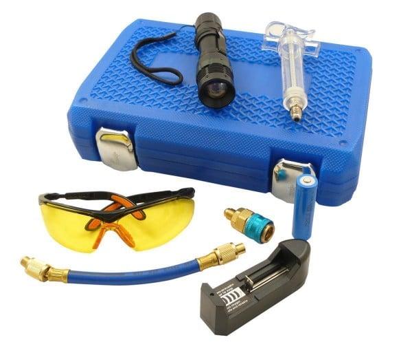 UV-Kältemittel Lecksucher Set 8 tlg. für R134a Klimaanlagen