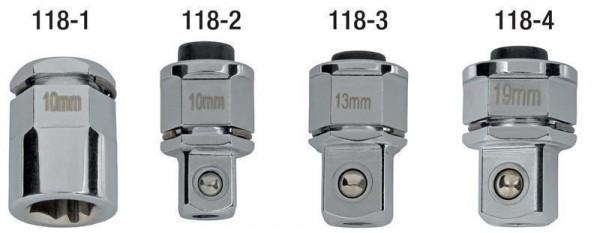 """Adapter 1/2"""" für Ratschenringschlüssel, ELORA-118-4"""