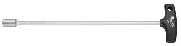 Sechskant-Steckschlüssel mit T-Griff, ELORA-214-13-125 mm