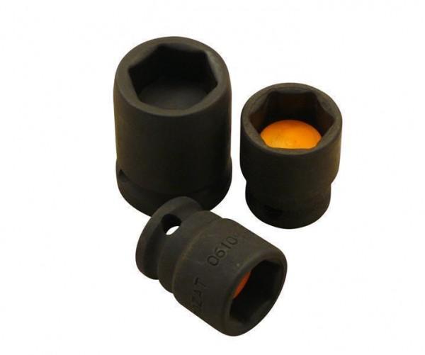 Schlagschrauber Nüsse 3/8 Zoll von 3/8 Zoll - 3/4 Zoll m. Magnet