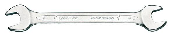 Doppelmaulschlüssel DIN 3110, ELORA-100-17x19 mm