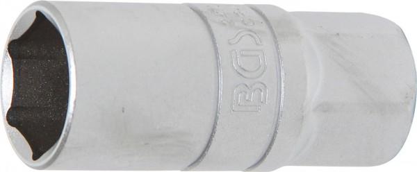 """Zündkerzen-Einsatz, matt verchromt, 1/2"""" Antrieb, SW 20,8 mm"""