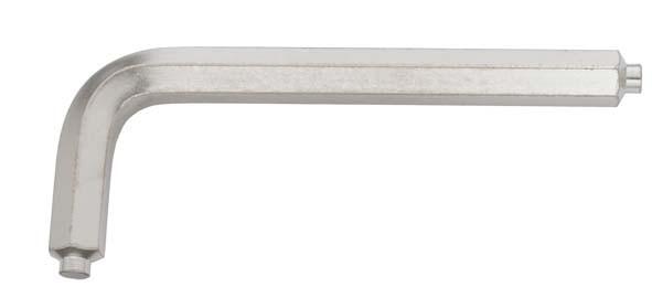 Winkelschraubendreher mit Zapfen, ELORA-159Z-4 mm