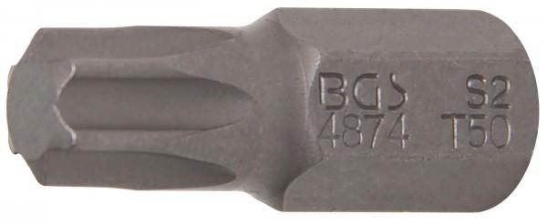 "T-Profil Bit ohne Bohrung, 30 mm lang, T50, 3/8"""