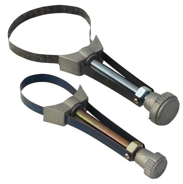 Ölfilter-Bandschlüssel Set 2tlg. 65-155mm