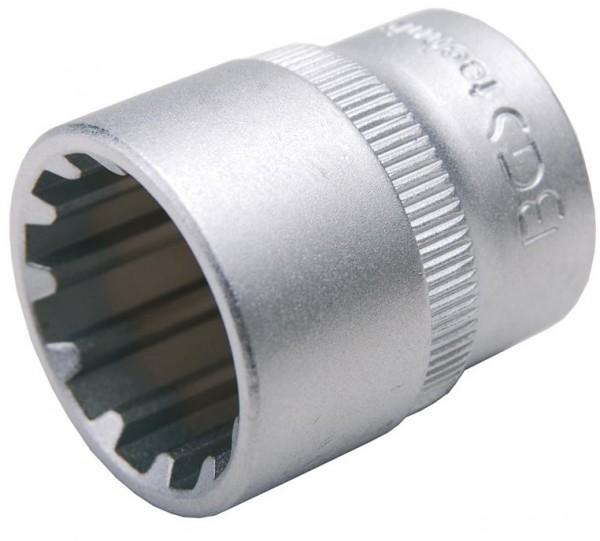 """Steckschlüssel-Einsatz """"Gear Lock"""", 3/8"""", 19 mm"""