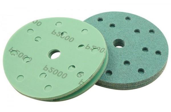 Auswahl: 150mm Klett-Schleifscheiben - 15 Loch