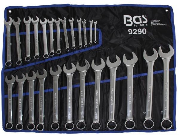 Werkzeug Maulringschlüssel Ringschlüssel Ring-Maulschlüssel Set 8 tlg