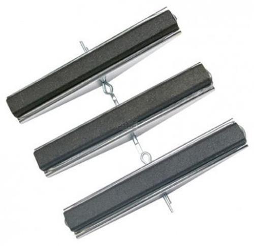 3 Ersatzbacken, 100 mm Backen, fein #280