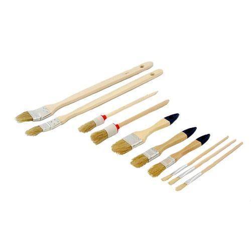 Pinsel-Set,10-teilig Rundpinsel / Heizkörperpinsel / Flachpinsel