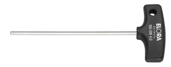 Sechskant-Schraubendreher mit Quergriff, ELORA-155-10-100 mm