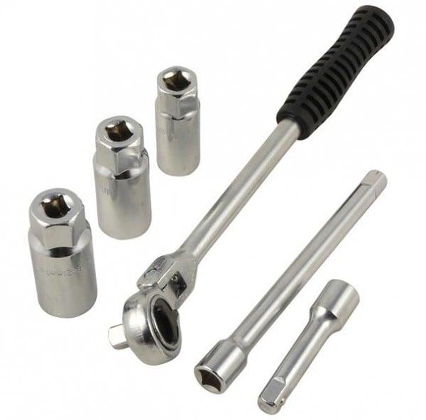 Zündkerzen-Werkzeugsatz, 6-tlg.